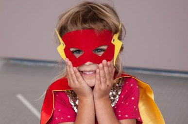 Girls can be Superheroes too!